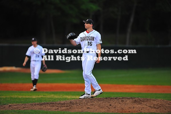 21 April 2011:  Appalachian State takes on Davidson in SoCon baseball action at Wilson Field in Davidson, North Carolina.