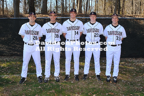 13 February 2011: Davidson baseball photos at Wilson Fiedl in Davidson, North Carolina.
