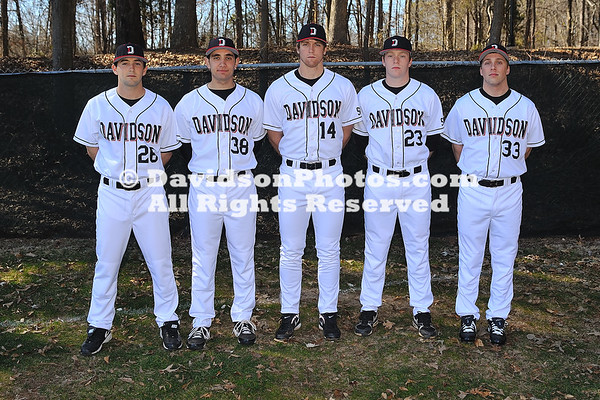 13 February 2011: Davidson baseball photos at Wilson Fiedl in Davidson, North Carolina.