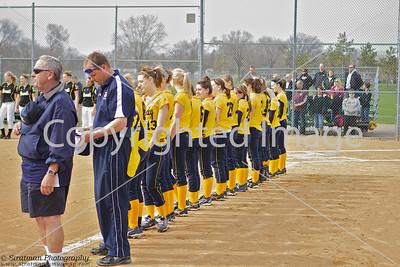 2011-04-25 JFK Fastpitch Varsity Girls vs Burnsville