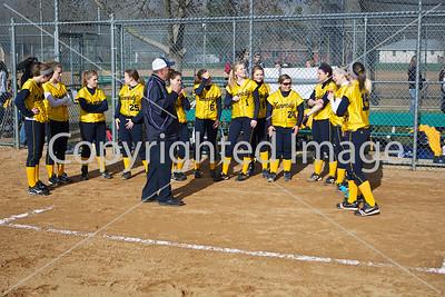 2011-04-28 JFK FastPitch Varsity Girls vs Jefferson