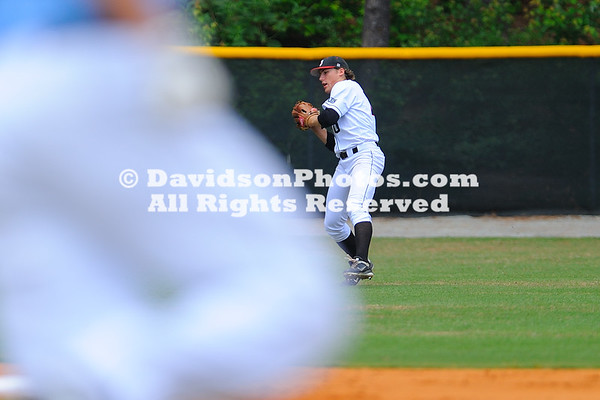 06 May 2012:  Davidson resumed their Southern Conference baseball weekend series with The Citadel Sunday afternoon at Wilson Field in Davidson, North Carolina.