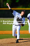 06 April 2012:  Davidson was able to get eight innings from both of its starting pitchers, but Georgia Southern was able score late to secure an 8-3 victory in the first game and a come-from-behind 6-3 victory in the second game in Southern Conference baseball action Friday at Wilson Field in Davidson, North Carolina.