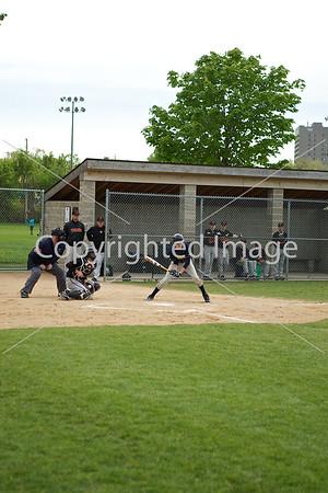 2012-04-27 JFK Baseball Varsity @ Mpls South