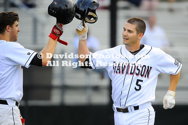NCAA BASEBALL:  APR 16  Winthrop at Davidson