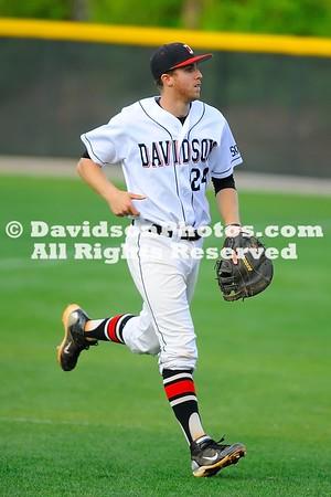 NCAA BASEBALL:  APR 16  Winthrop at Davidson