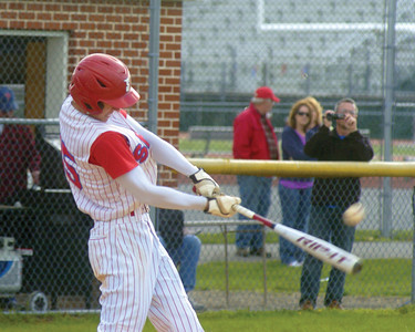 Selinsgrove's Ryan Wagner swings his bat on Monday's game against Line Mountain.