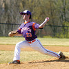 Michael Fausnaught pitches against Mifflinburg on Wednesday.