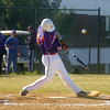 Danville's Scott Heeter hits the ball on Wednesday afternoon against Mifflinburg.