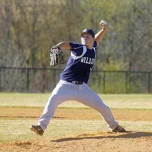 Mifflinburg's Oakley Whitesel pitches against Danville Wednesday.