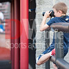 A budding sports photographer.