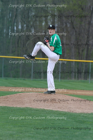 WBHS Baseball Sr Nite vs Canfield-68
