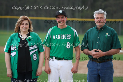 WBHS Baseball Sr Nite vs Canfield-48