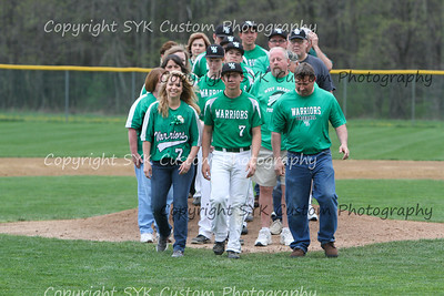 WBHS Baseball Sr Nite vs Canfield-6
