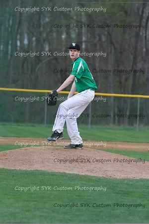 WBHS Baseball Sr Nite vs Canfield-70