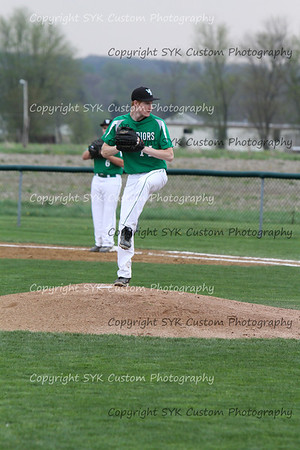 WBHS Baseball Sr Nite vs Canfield-62