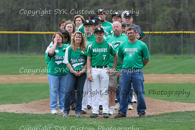 WBHS Baseball Sr Nite vs Canfield-5