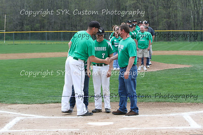 WBHS Baseball Sr Nite vs Canfield-11