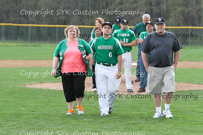 WBHS Baseball Sr Nite vs Canfield-33