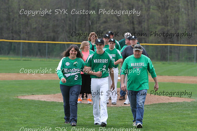 WBHS Baseball Sr Nite vs Canfield-27