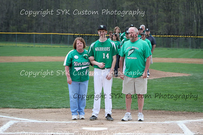 WBHS Baseball Sr Nite vs Canfield-23