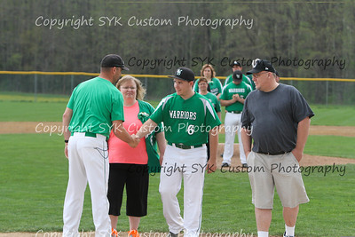 WBHS Baseball Sr Nite vs Canfield-34