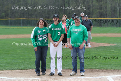 WBHS Baseball Sr Nite vs Canfield-32