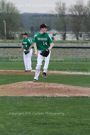 WBHS Baseball Sr Nite vs Canfield-65