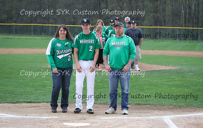 WBHS Baseball Sr Nite vs Canfield-30