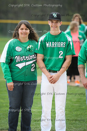 WBHS Baseball Sr Nite vs Canfield-31