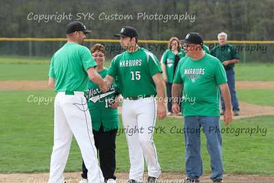 WBHS Baseball Sr Nite vs Canfield-41