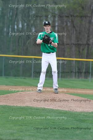 WBHS Baseball Sr Nite vs Canfield-66