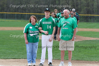 WBHS Baseball Sr Nite vs Canfield-25