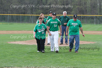 WBHS Baseball Sr Nite vs Canfield-39