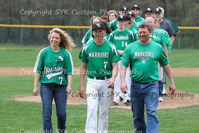 WBHS Baseball Sr Nite vs Canfield-8