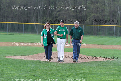 WBHS Baseball Sr Nite vs Canfield-44