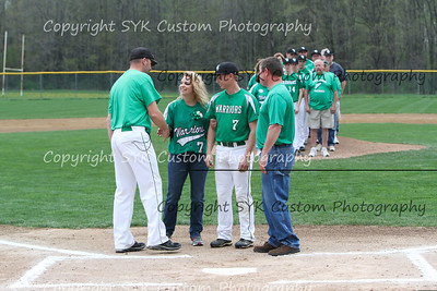 WBHS Baseball Sr Nite vs Canfield-12
