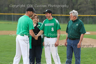 WBHS Baseball Sr Nite vs Canfield-47