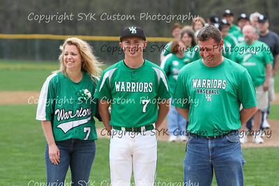 WBHS Baseball Sr Nite vs Canfield-15