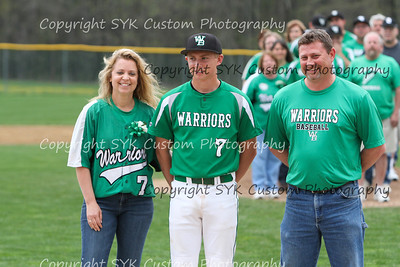 WBHS Baseball Sr Nite vs Canfield-17