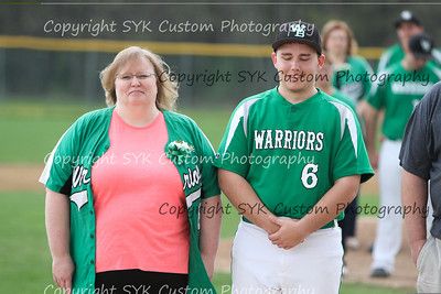 WBHS Baseball Sr Nite vs Canfield-36