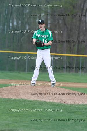 WBHS Baseball Sr Nite vs Canfield-67