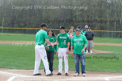 WBHS Baseball Sr Nite vs Canfield-29
