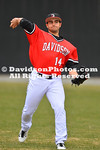 NCAA BASEBALL:  FEB 21 Air Force at Davidson