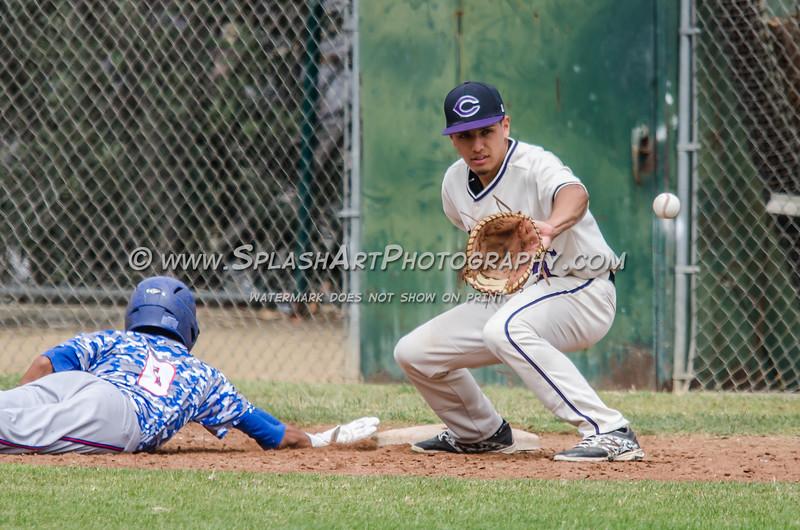 2015 Cathedral Baseball vs Serra Cavaliers