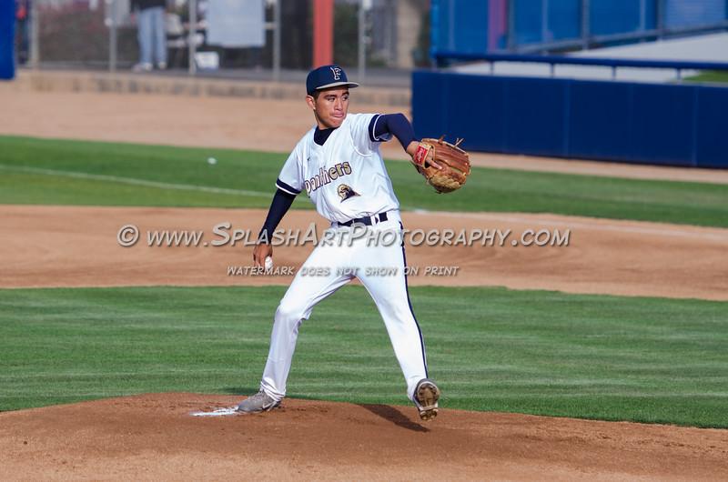 2015 Franklin Panthers Baseball vs Chavez Eagles