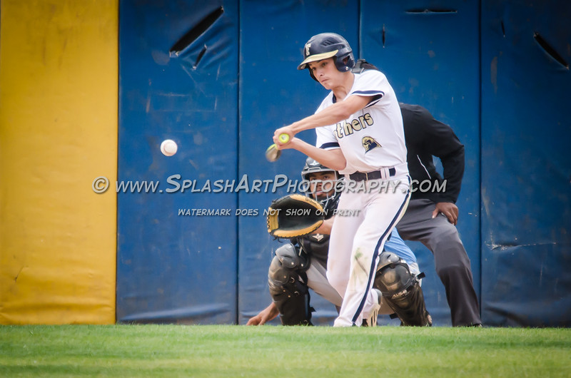 2015 Franklin Panthers Baseball vs Locke Saints