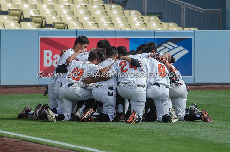 2015 Lincoln Tigers Baseball vs Chavez Eagles City Championship game