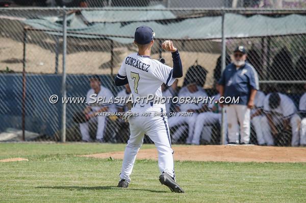 2016 Franklin Panthers Baseball vs Rivera Huskies
