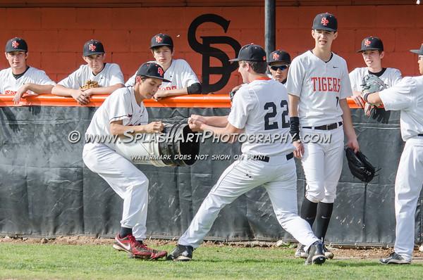 2016 Eagle Rock JV Baseball vs South Pasadena Tigers